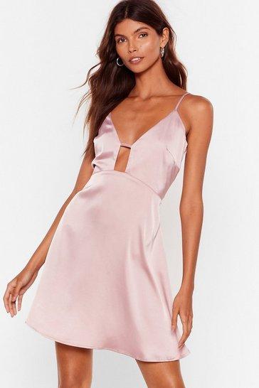 Blush Gap Year Satin Cami Dress