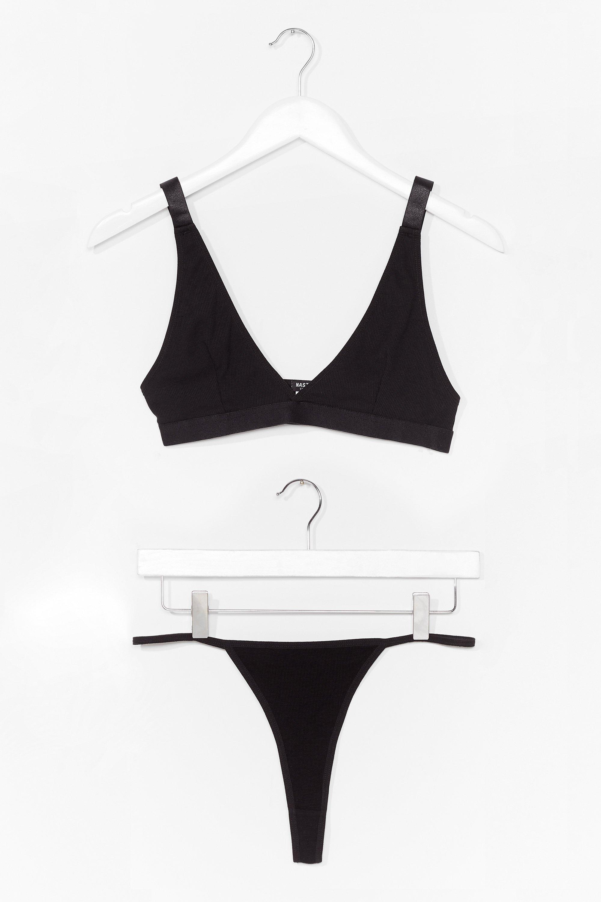 Do Your Breast Triangle Bralette and Panty Set