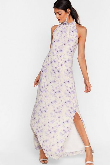 Cream Plant Buy Our Love Floral Maxi Dress