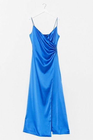 Blue Moons Out Maxi Dress