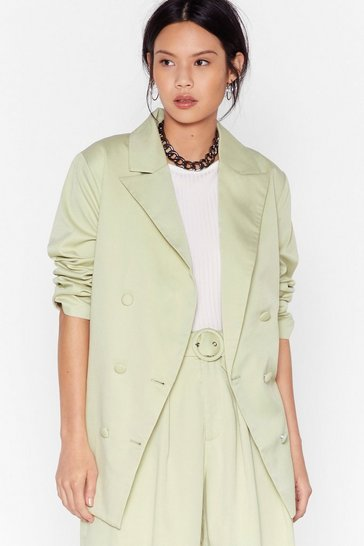 Mint Back to Business Relaxed Blazer