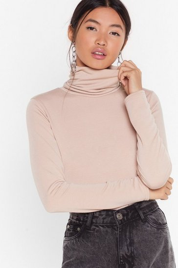 Stone Let It Roll Turtleneck Top