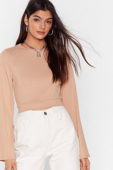 Stone Do Rib All Over Again Cropped Top