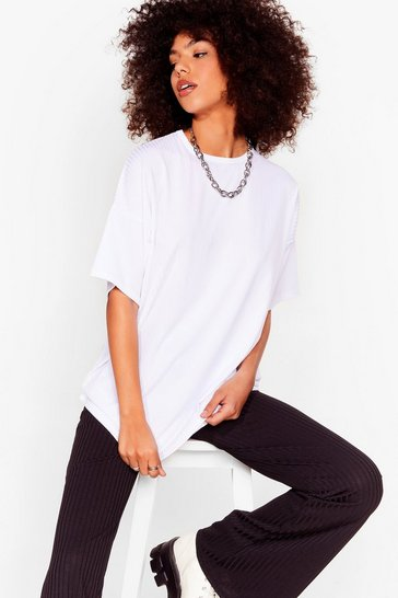 Blackwhite Together Again Oversized Tee and Pants Set
