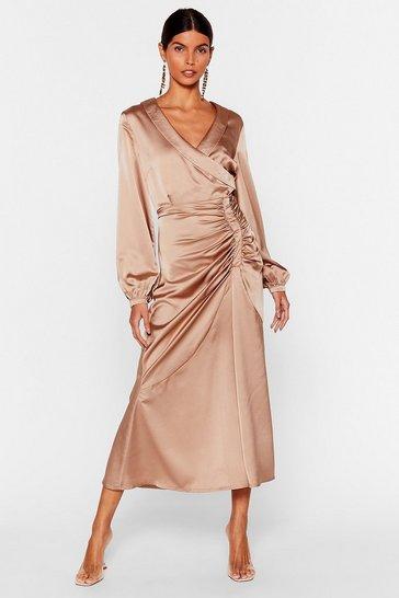 Caramel Steal the Spotlight Dress