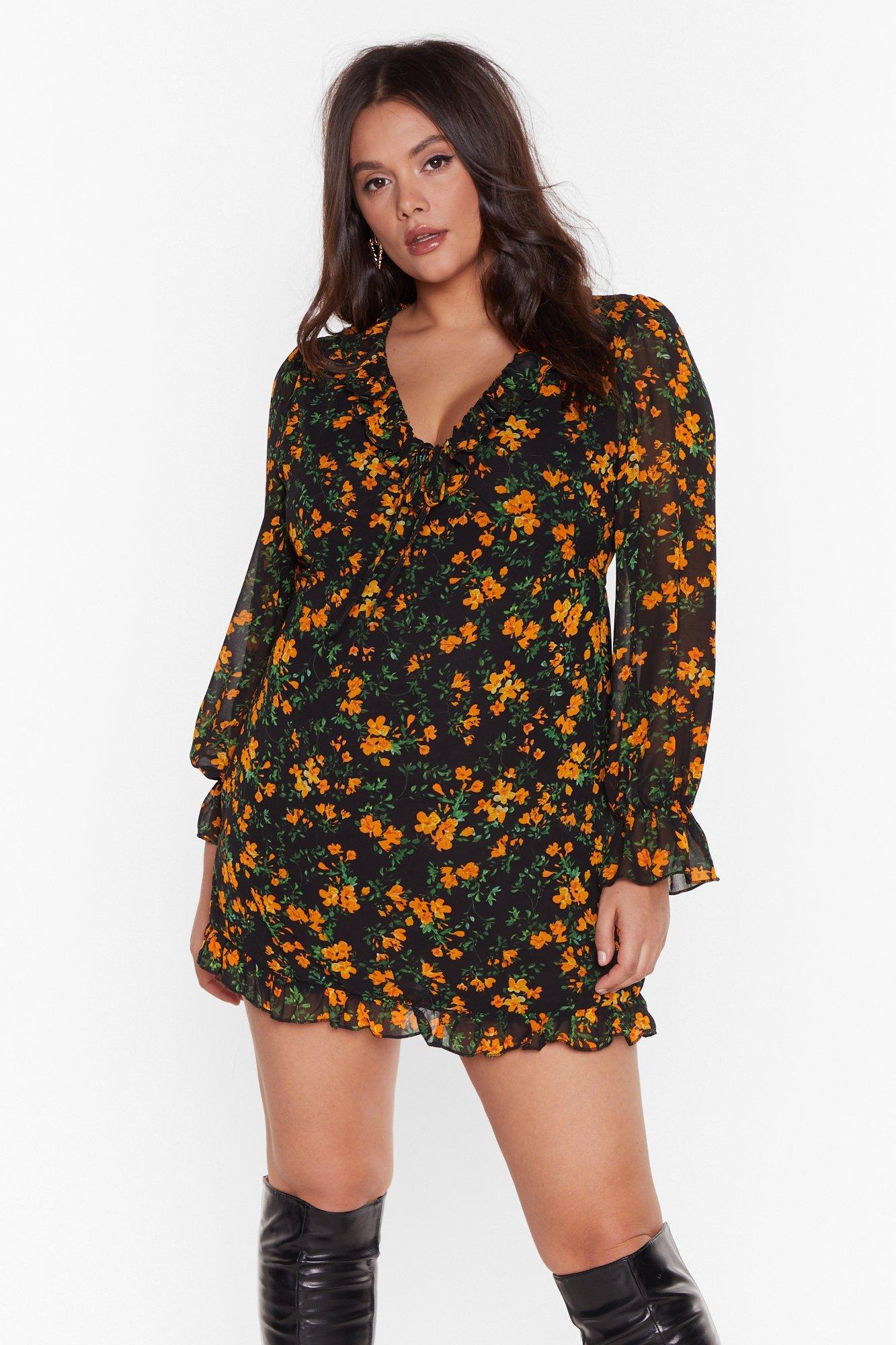 Plus Shirred Waist Shirt Dress 7