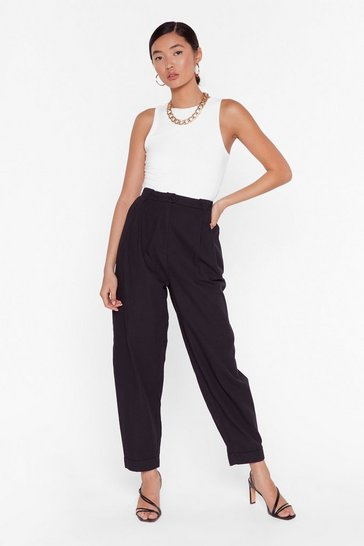 Black Pant Be Stopped High-Waisted Pants