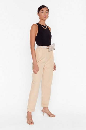 Stone Pant Be Stopped High-Waisted Pants
