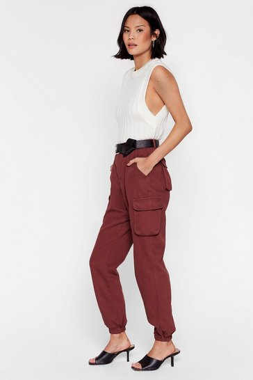 Rust Cargo Your Own Way High-Waisted Relaxed Jeans