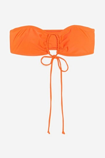 Tangerine Adios Beaches Multiway Bikini Top