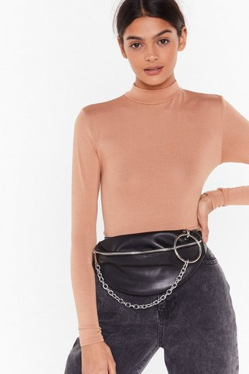 Black WANT O-ring the Beat Back Fanny Pack