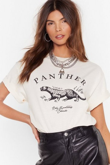 Natural It Was All a Purr Trouserher Graphic Tee