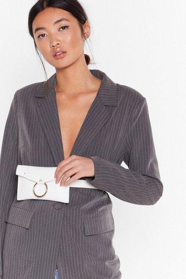 White WANT Circle of Life Belt Bag