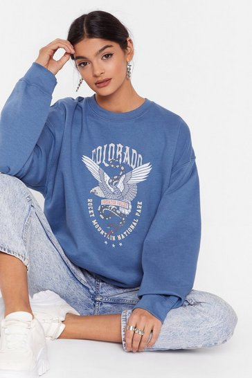 Indigo Colarado Springs Graphic Sweatshirt