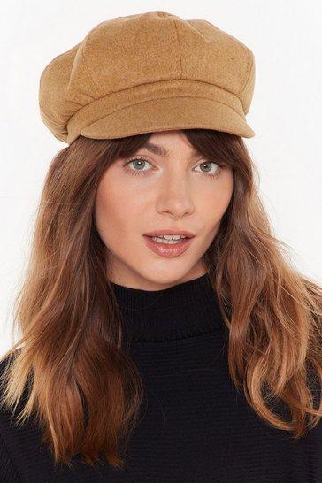 Camel From Head to Toe Baker Boy Hat