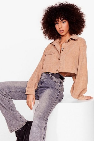Stone Crop and Listen Corduroy Shirt