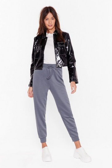 Petrol On the Run High-Waisted Joggers