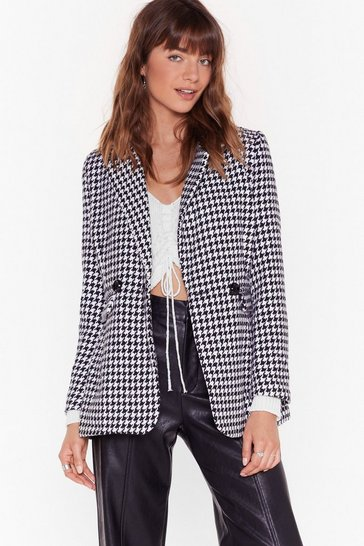 Black Hound the One Houndstooth Blazer