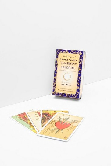 Womens Purple Searching For Fame and Fortune Tarot Card Set