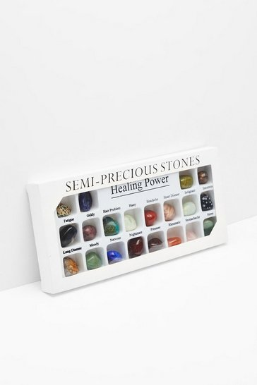 Womens Multi Time to Rock That Body 20-Pc Healing Stone Set