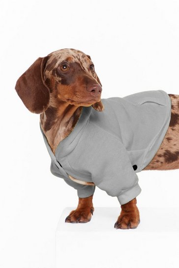 Grey It's Been a Ruff Day Dog Hoodie