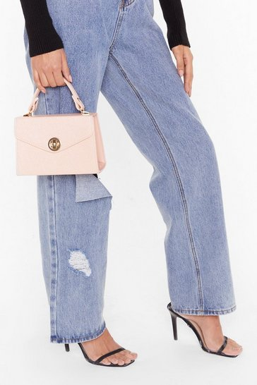 Nude WANT Wanna Be a Croc-Star Crossbody Bag