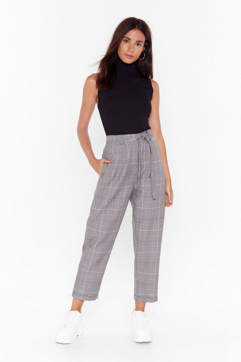 checkin-out-high-waisted-tapered-pants by nasty-gal