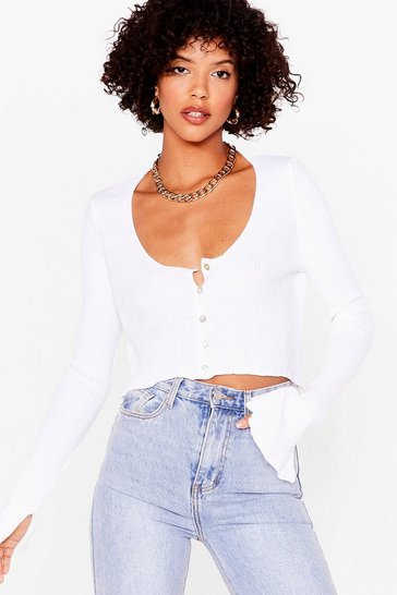 White License to Chill Ribbed Cardigan