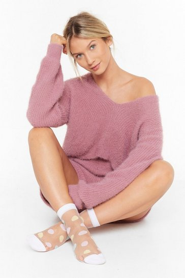Rose Knit's Cold Outside Sweater and Shorts Lounge Set