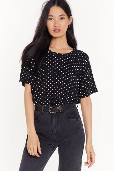 Womens Black I Dot It From My Mama Relaxed Tee