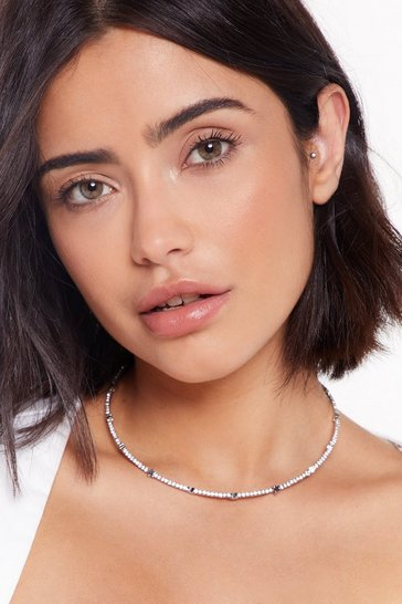 Womens Silver Star-t of Something Good Dainty Chain