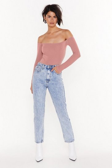Womens Light blue Just Be Straight With Me Denim Jeans
