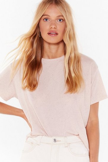 Nude Now You Tee Me Relaxed Tee