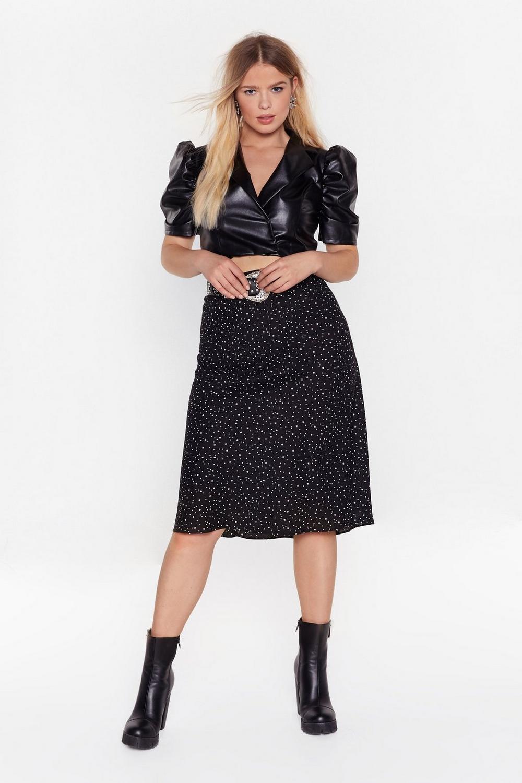 Star Gazing Plus Midi Skirt by Nasty Gal