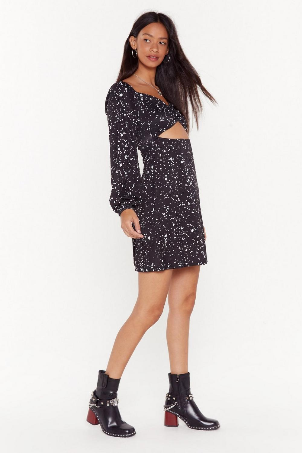 Look How Star We've Come Cut Out Mini Dress by Nasty Gal