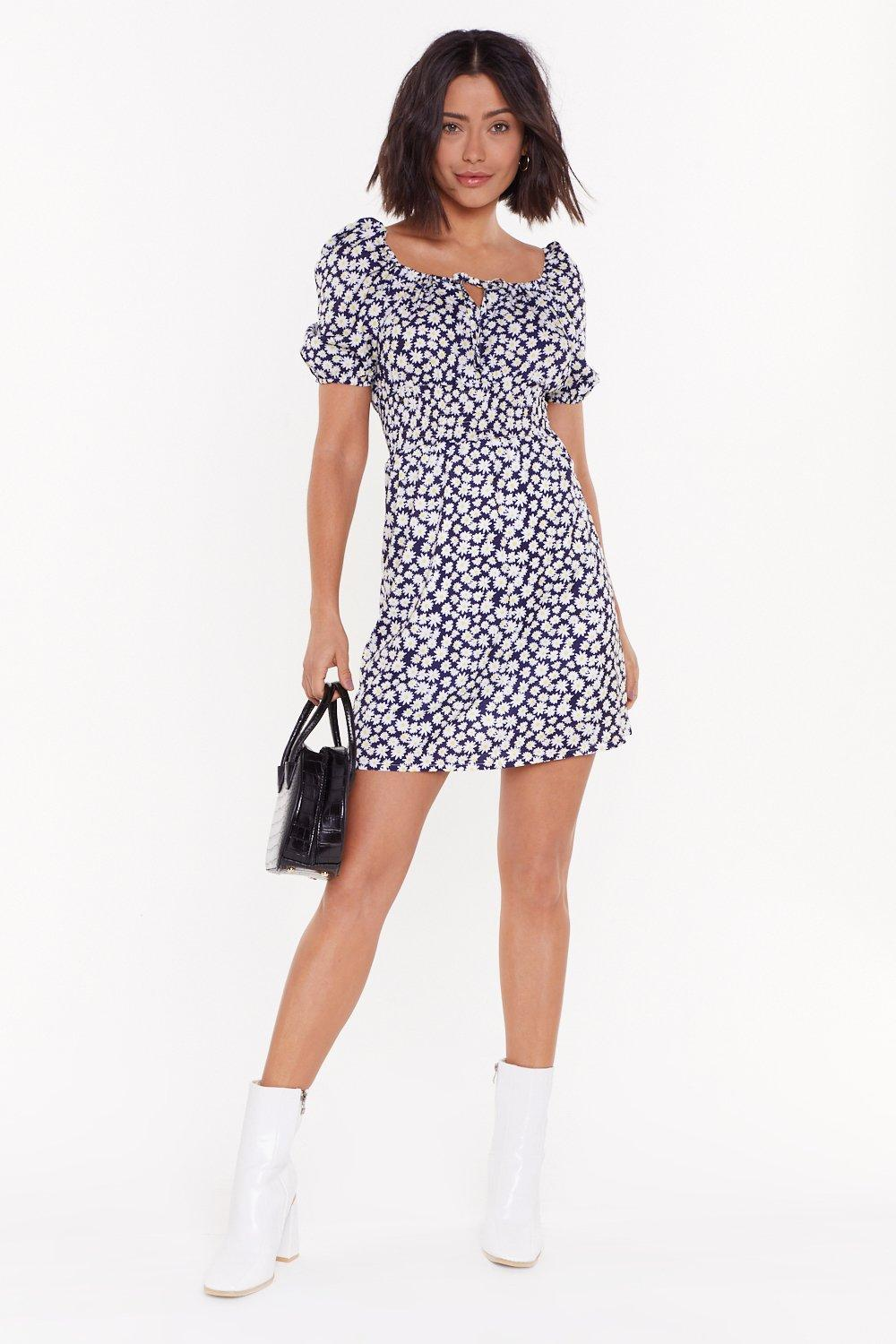 Leave Her Wild Daisy Mini Dress by Nasty Gal