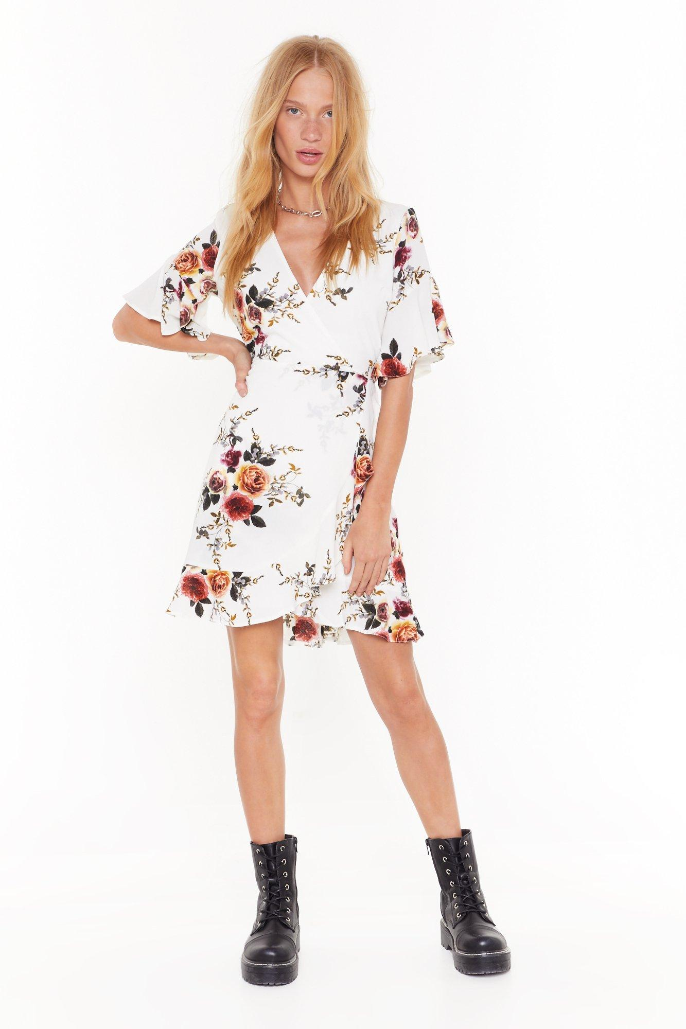 Flower Grown Wild Floral  Dress   Shop Clothes at Nasty Gal!