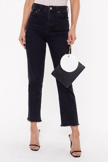 Black WANT Take Hold Clutch Bag