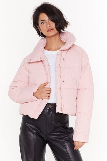Womens Blush Padded Jacket