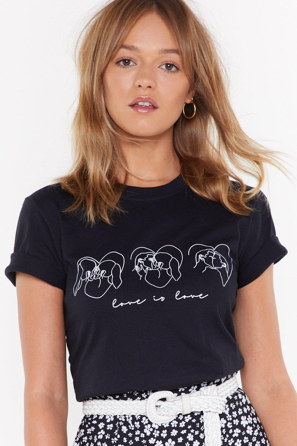 Love Has No Gender Graphic Tee by Nasty Gal