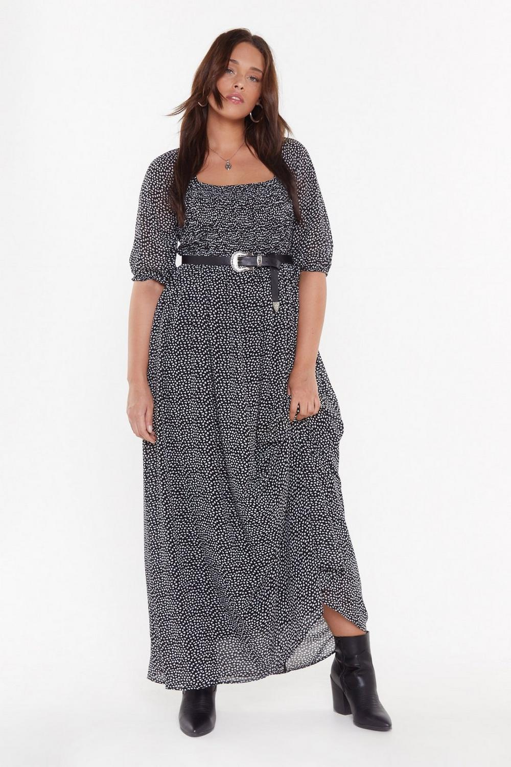 Young At Heart Plus Maxi Dress by Nasty Gal