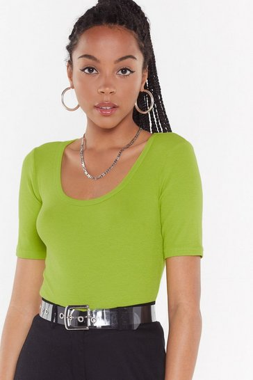 Womens Lime Fitted Come Out on Top