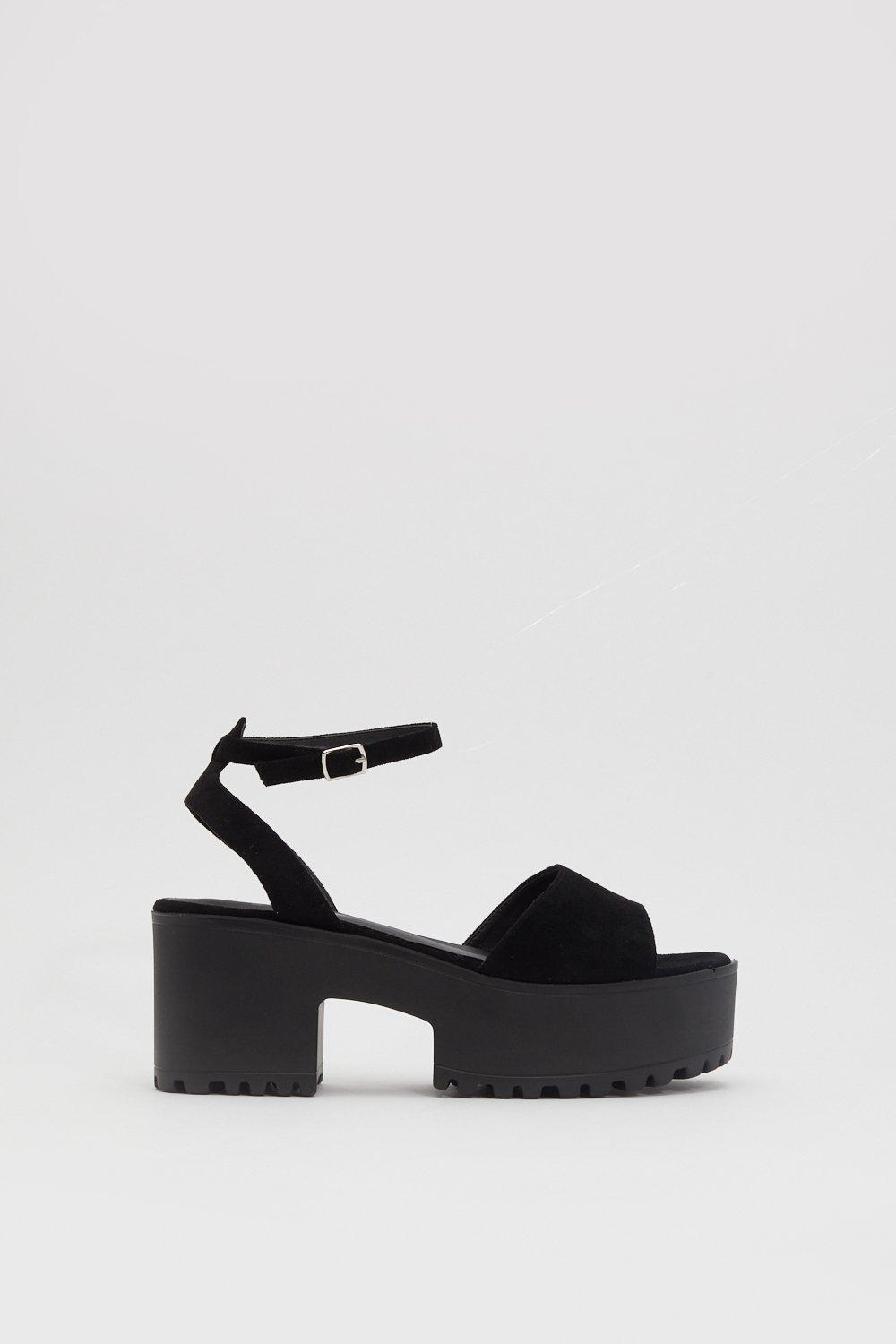 Love So High Platform Sandals by Nasty Gal