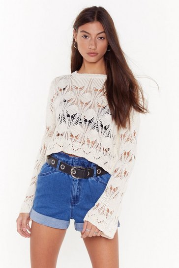 Womens Dark blue Make Haste Paperbag Denim Shorts