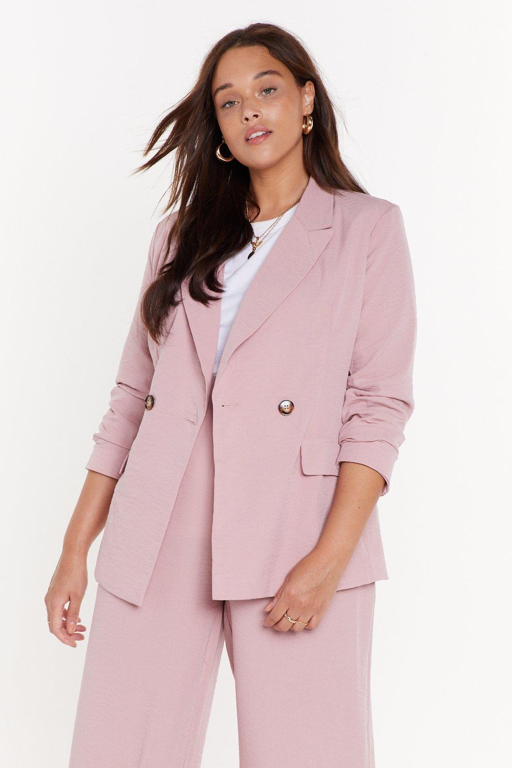 Relaxed Db Blazer by Nasty Gal