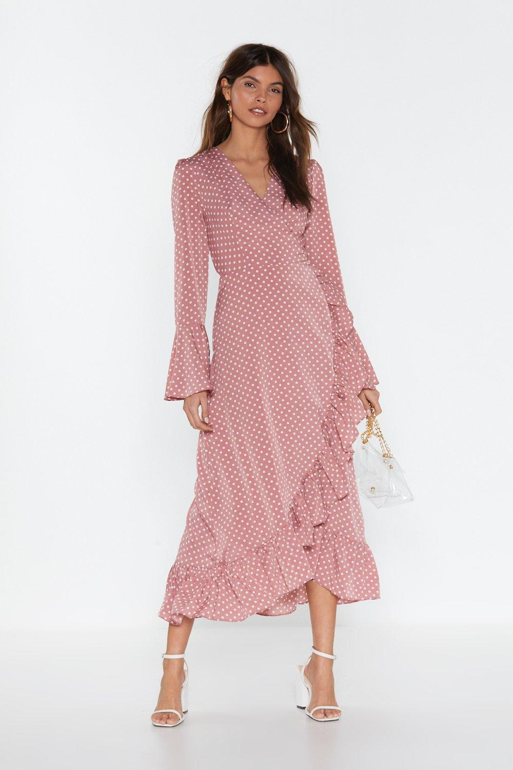 Dot to Have Your Love Polka Dot Midi Dress