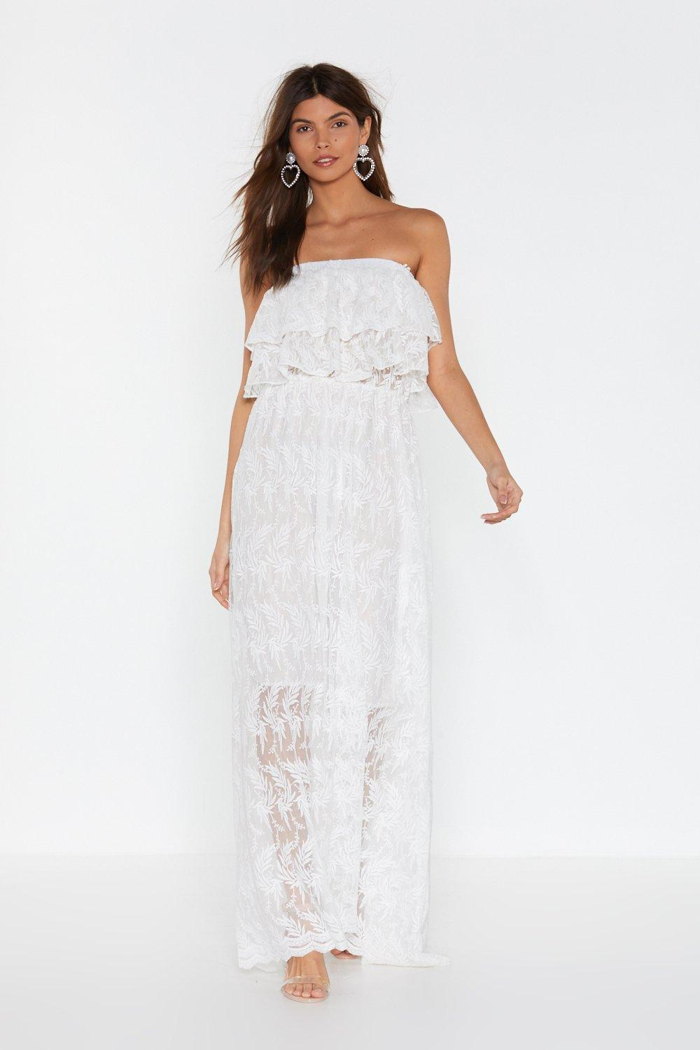 In Lace of Emergency Maxi Dress