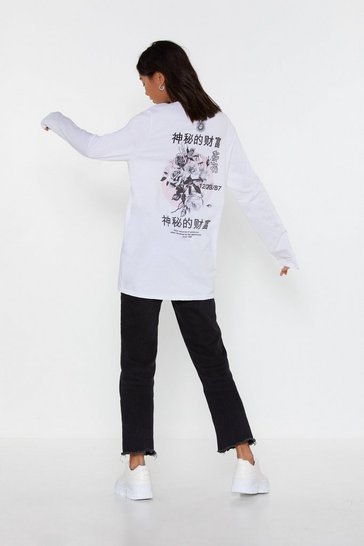 Natural Flower Girl East Asian Graphic Tee