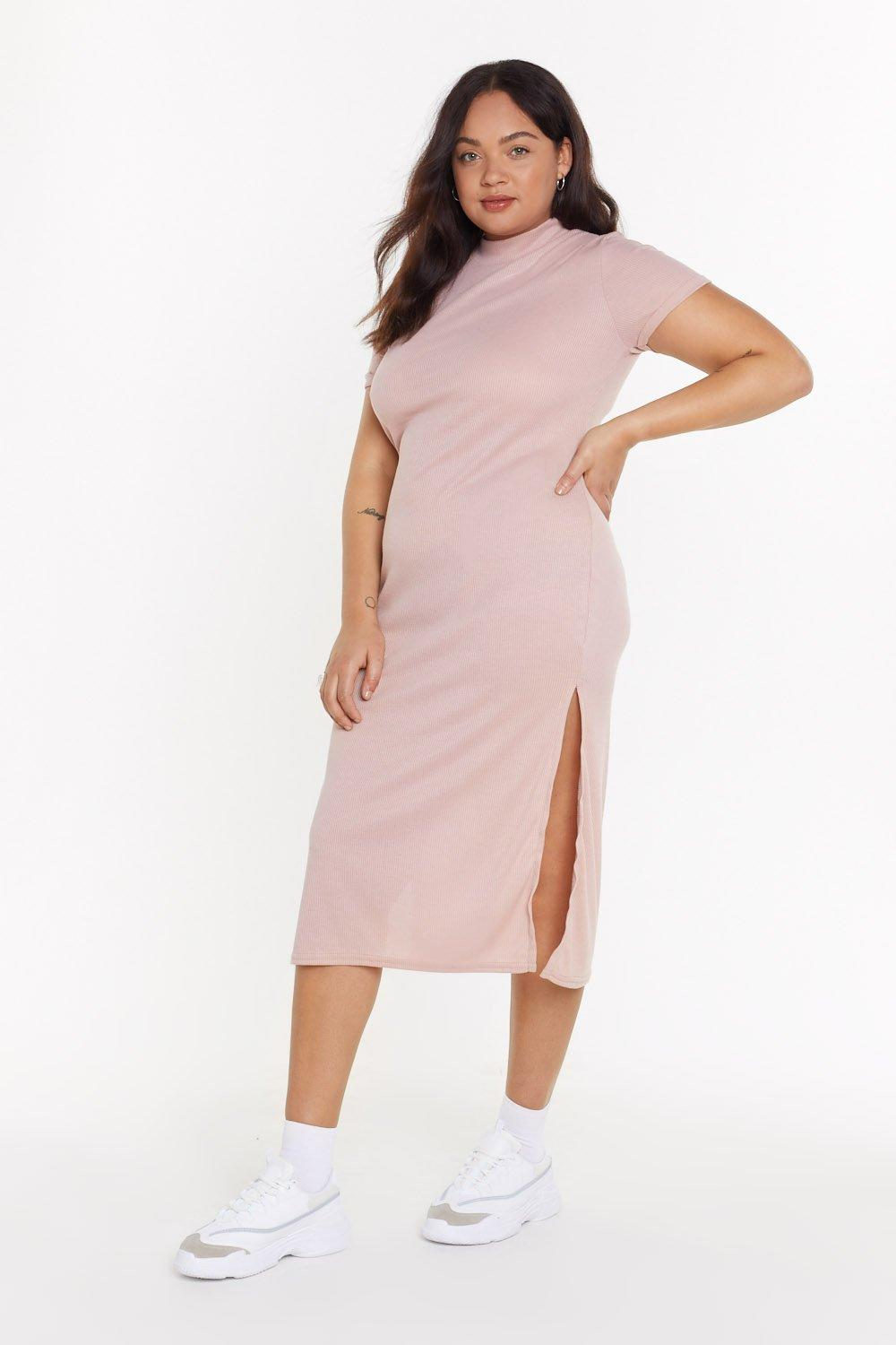 MS Here's The Tee Jersey Maxi Dress