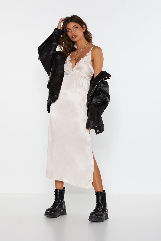 Jacket Satin Dress